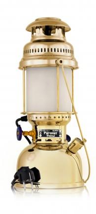 Tischlampe Petromax 500HK elektro (Messing)