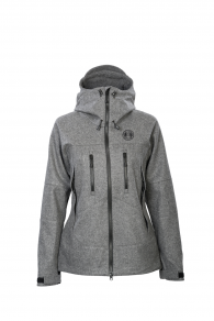 Petromax Bergmaid Loden Jacket for Women (stone grey)