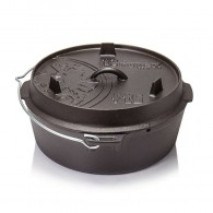Dutch Oven ft6 with a plane bottom surface