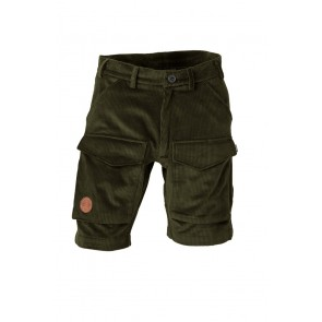 Petromax Rumtreiber Corduroy Shorts for Men (Forest green)