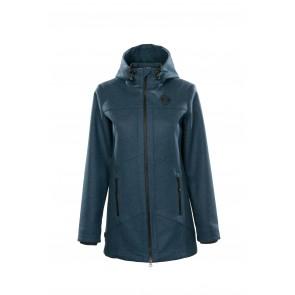 Petromax Bergmaid Loden Short Coat for Women (Graphite blue)