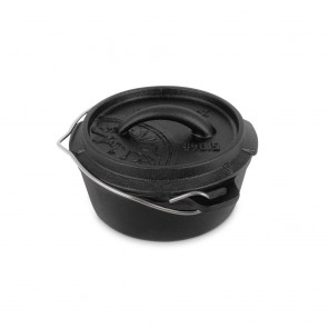Petromax Dutch Oven ft0.5-t with a plane bottom surface