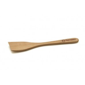 Wooden spatula with branding