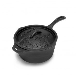 Cast-iron Saucepan with Lid kr2