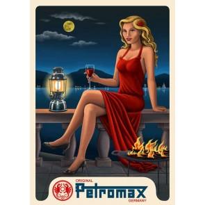 Petromax Blechschild
