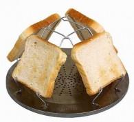 Toastaufsatz für Kocher