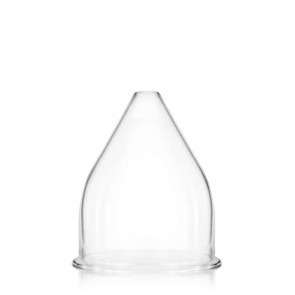 Glasglocke für Gas- und Petroleumlampen