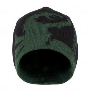 Bonnet réversible en laine Petromax (vert)